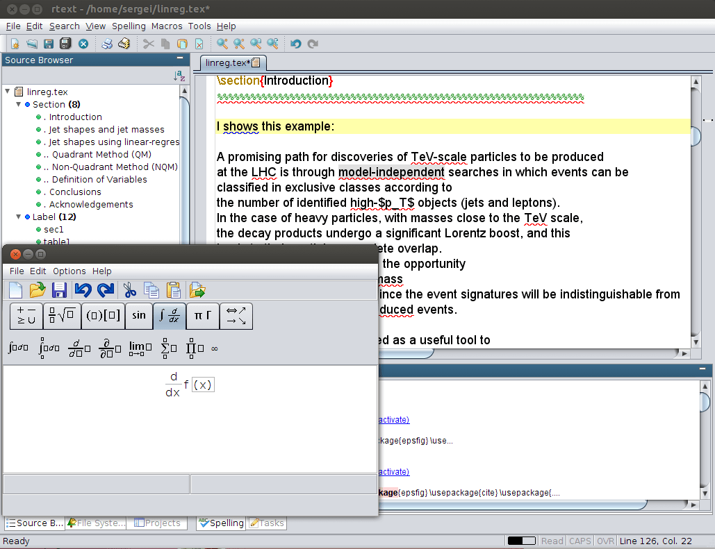 RTextDoc Bibtex editor